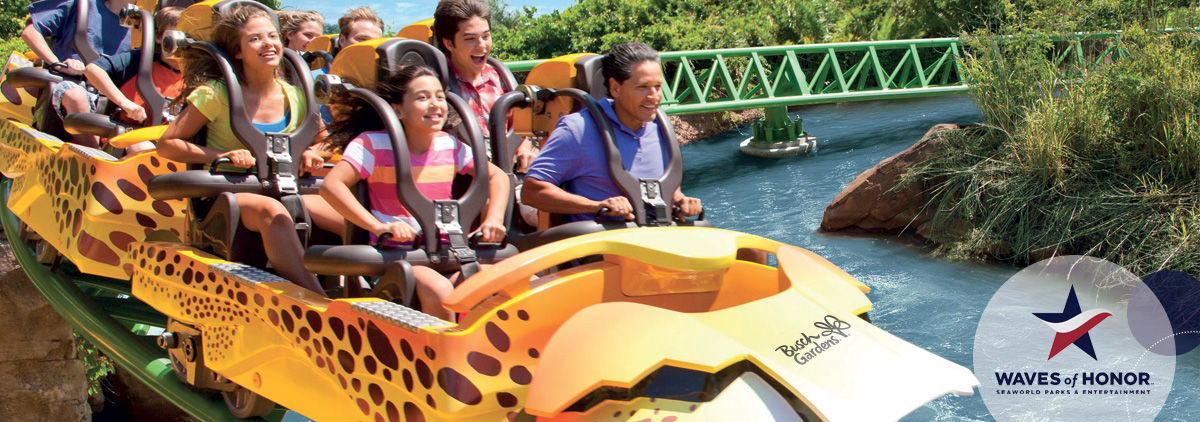 Busch gardens tampa bay military discount orlando - Busch gardens free military tickets ...