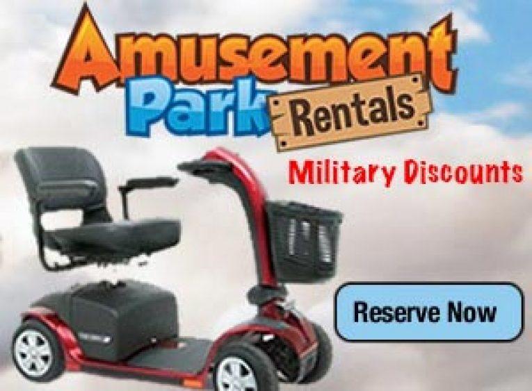 Orlando scooter rentals military discount orlando for Motorized scooter rental orlando